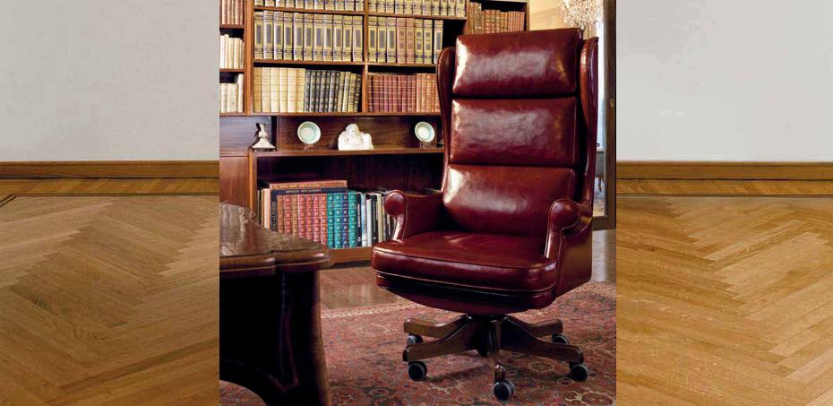 Chaise Bureau Classique Giubileo par Mascheroni