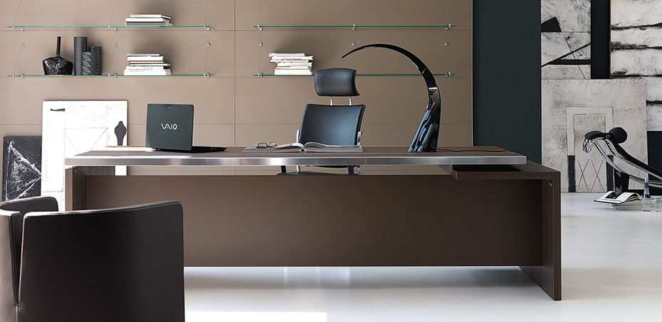 bureau moderne athos par ivm office. Black Bedroom Furniture Sets. Home Design Ideas