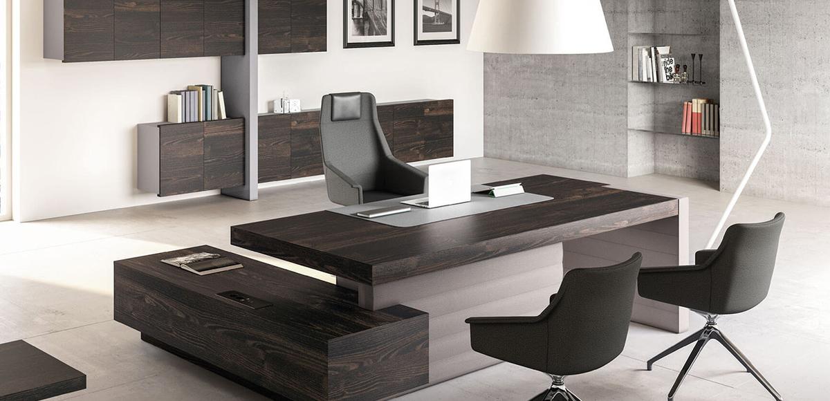 Bureau Moderne Jera par Las Mobili, Design Orlandini