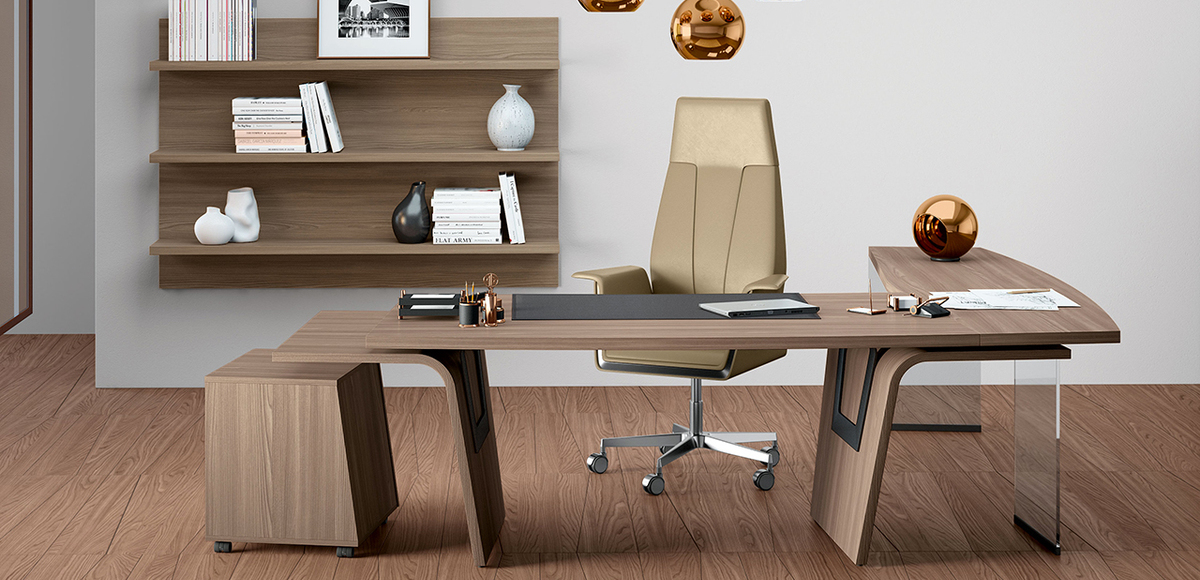 Bureau Moderne Larus par Della Rovere