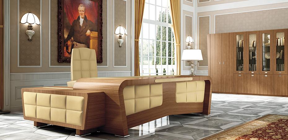 Bureau Classique Vanity par Tecnoarredo, Design Studio Aguzzi