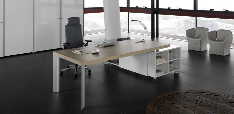 Bureau moderne tay par della valentina design perin topan - Bureaux modernes design ...