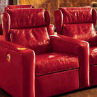 Holliwood auditorium armchairs