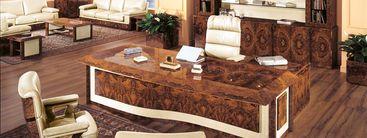 Bureau de direction classique mobilier italien traditionnel - Bureau de direction luxe ...