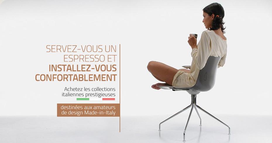 meubles design italien ameublement mobilier bureau made-in-italy - Meubles Contemporains Classic Design Italia